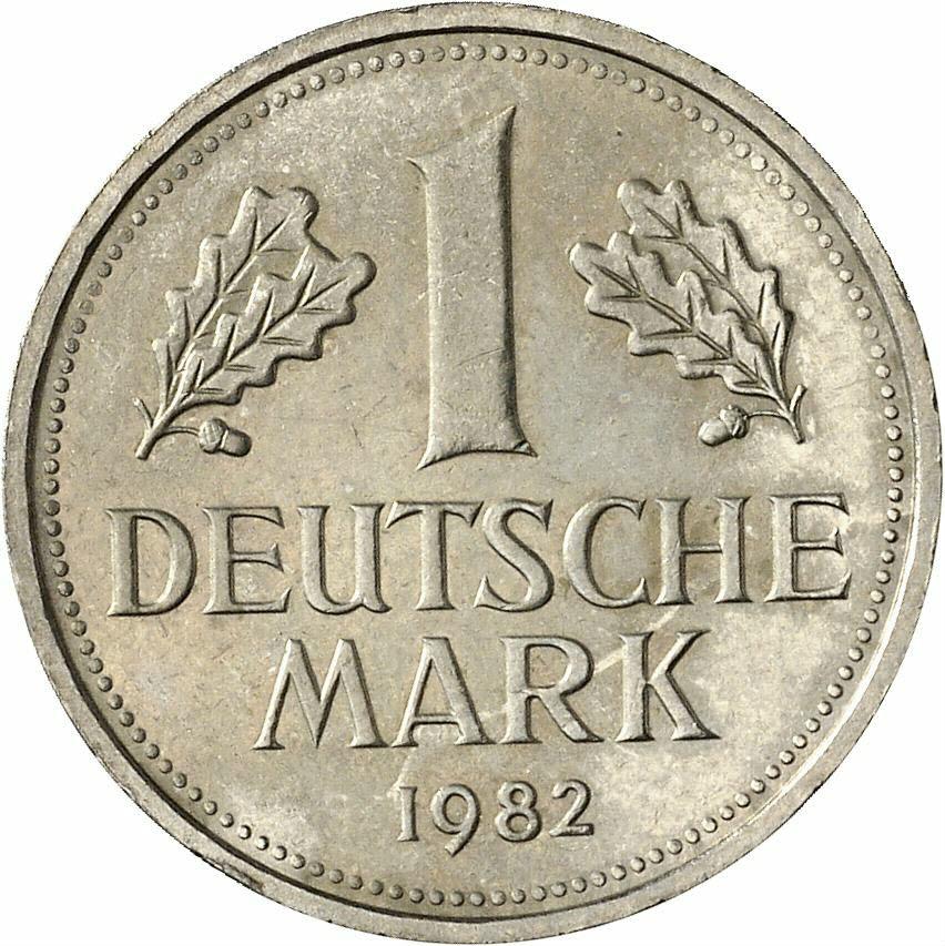 DE 1 Deutsche Mark 1982 J