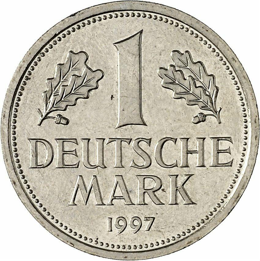 DE 1 Deutsche Mark 1997 D