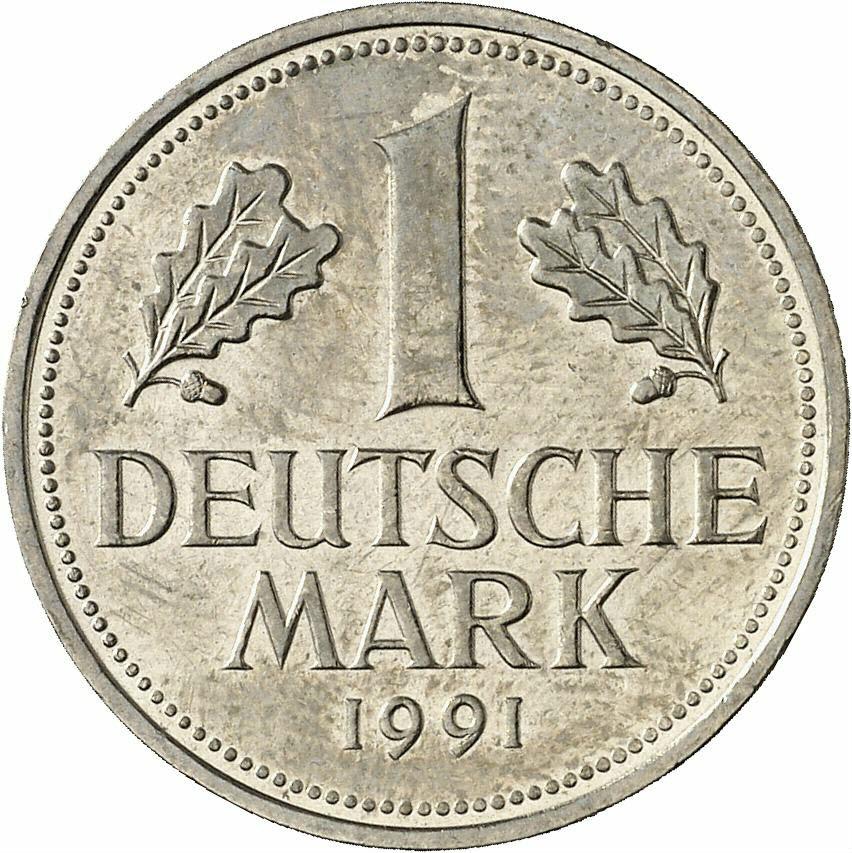 DE 1 Deutsche Mark 1991 D
