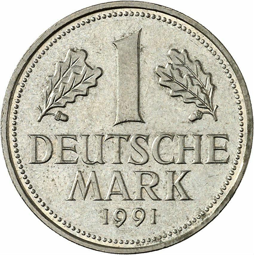 DE 1 Deutsche Mark 1991 G