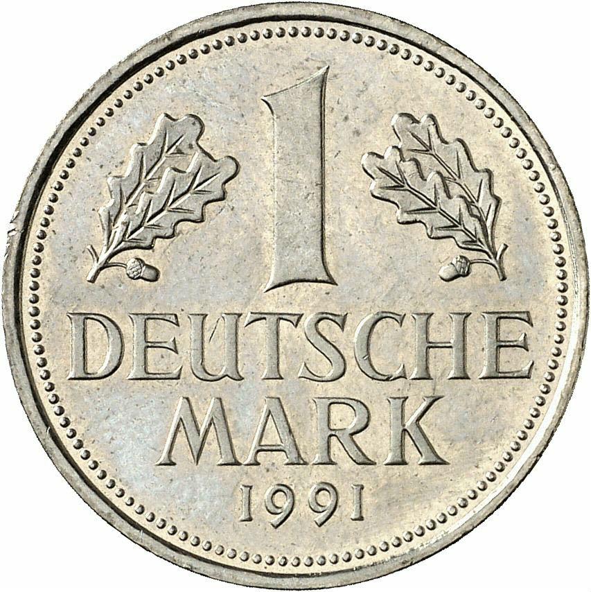 DE 1 Deutsche Mark 1991 J