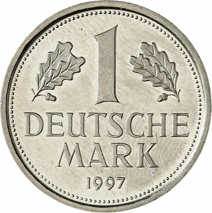 DE 1 Deutsche Mark 1997 F