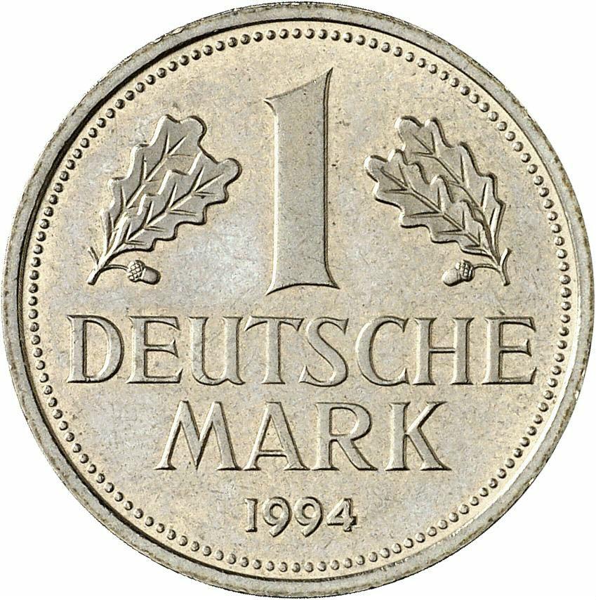 DE 1 Deutsche Mark 1994 J
