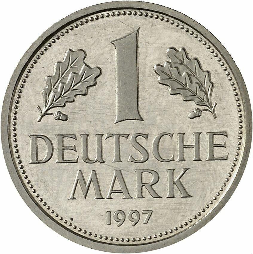 DE 1 Deutsche Mark 1997 G