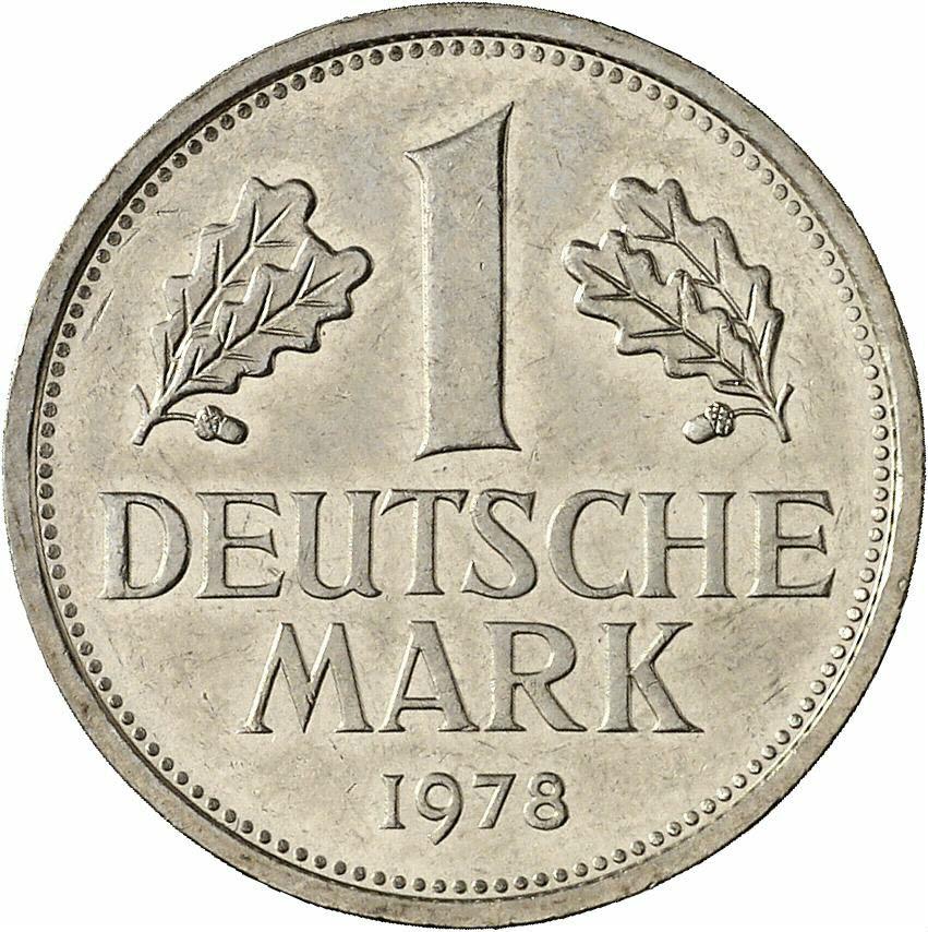 DE 1 Deutsche Mark 1978 J