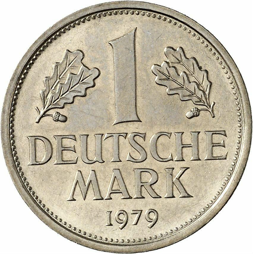 DE 1 Deutsche Mark 1979 D