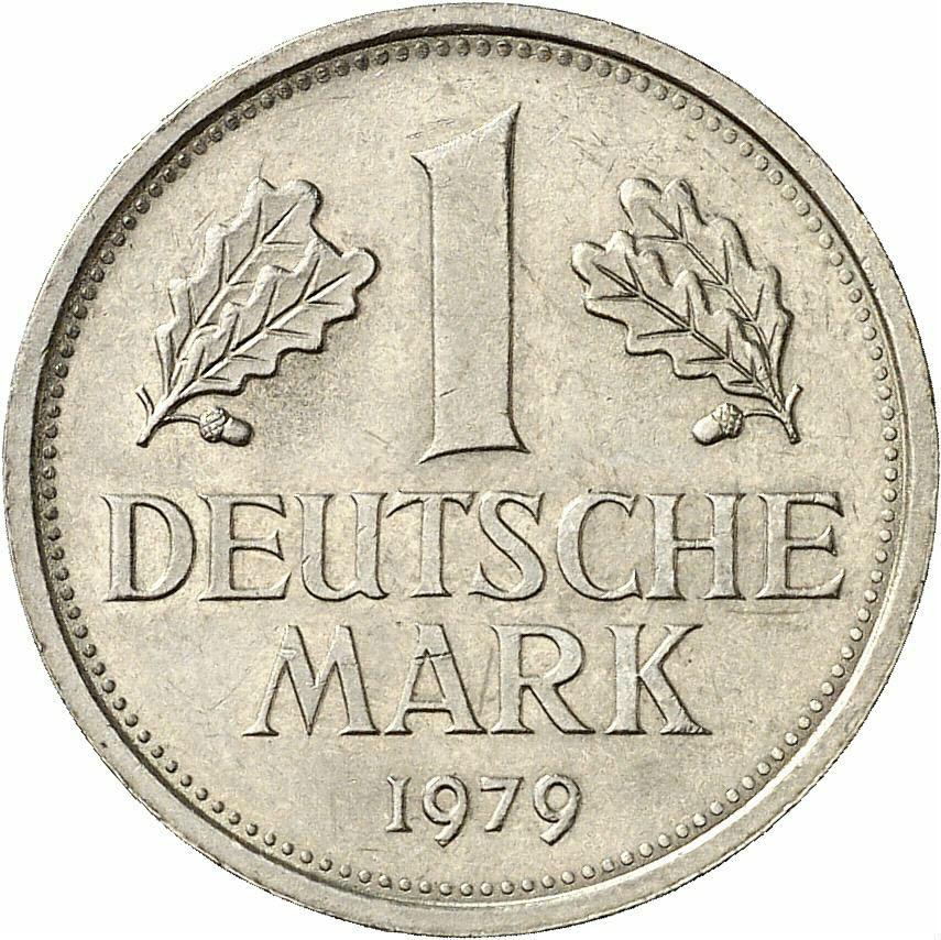 DE 1 Deutsche Mark 1979 F