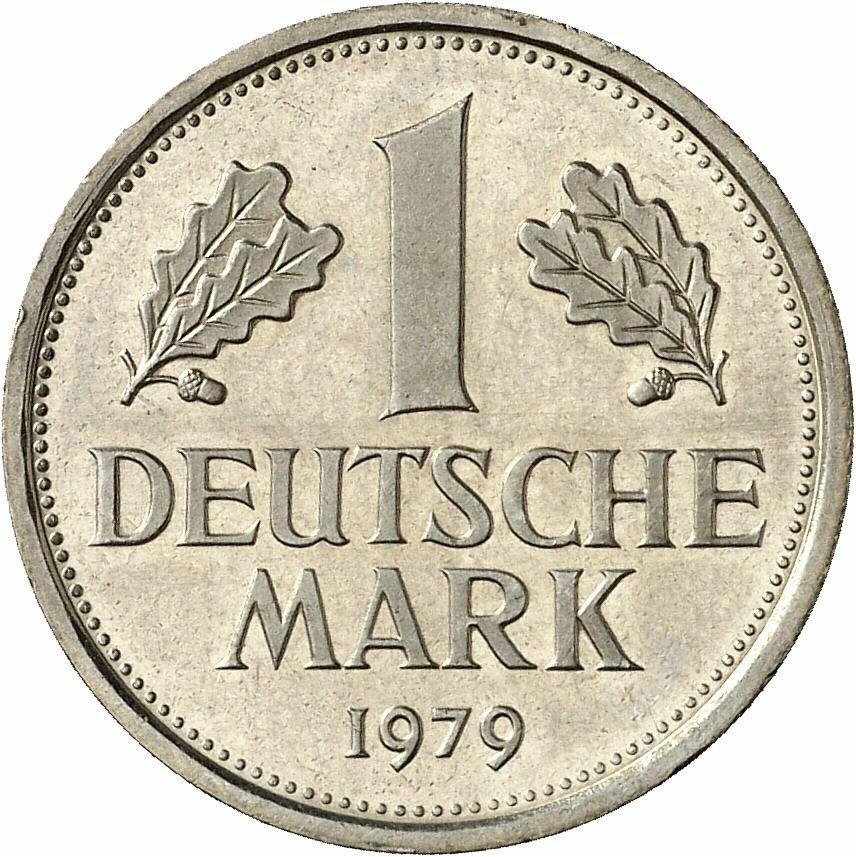 DE 1 Deutsche Mark 1979 G