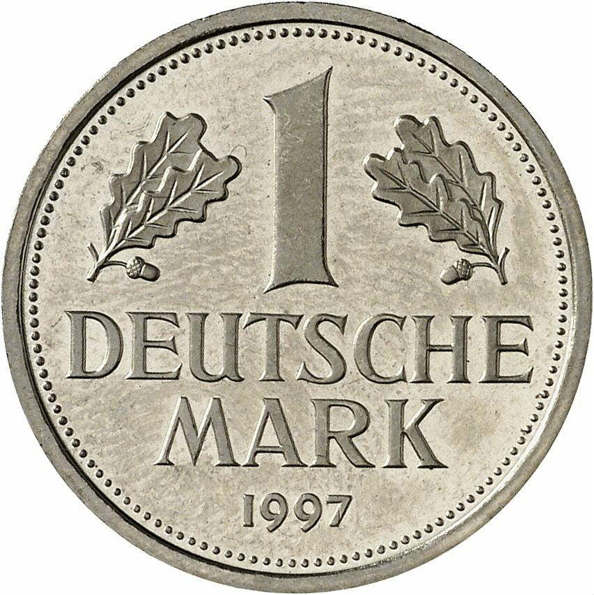 DE 1 Deutsche Mark 1997 J