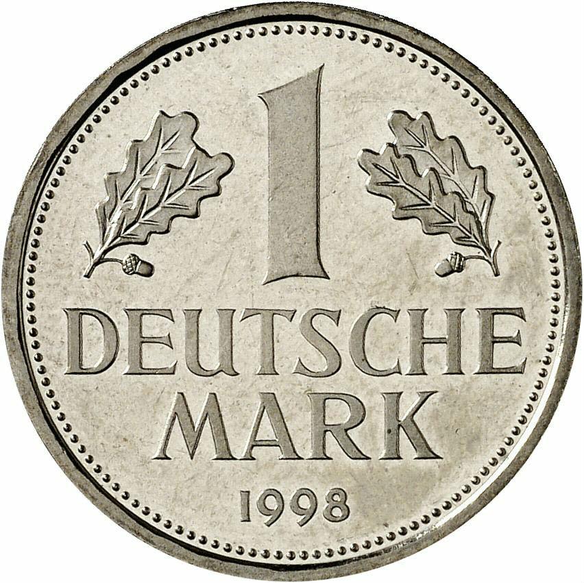 DE 1 Deutsche Mark 1998 A