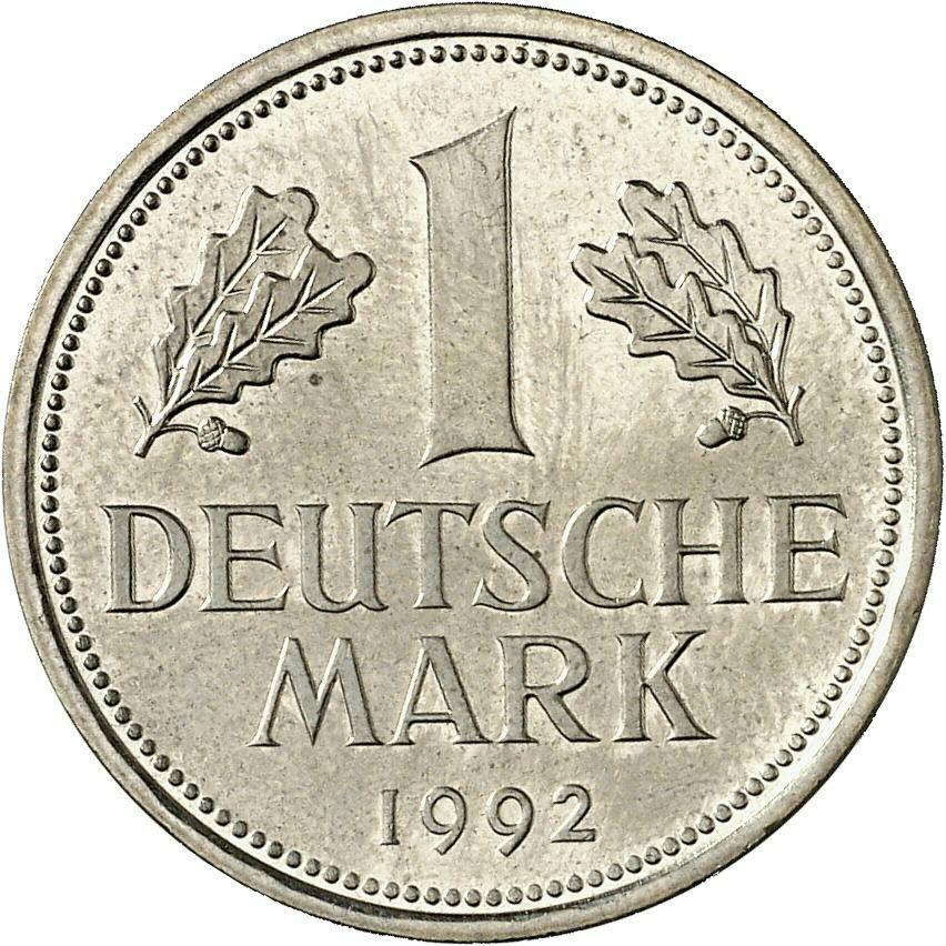 DE 1 Deutsche Mark 1992 D