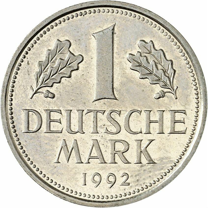 DE 1 Deutsche Mark 1992 G