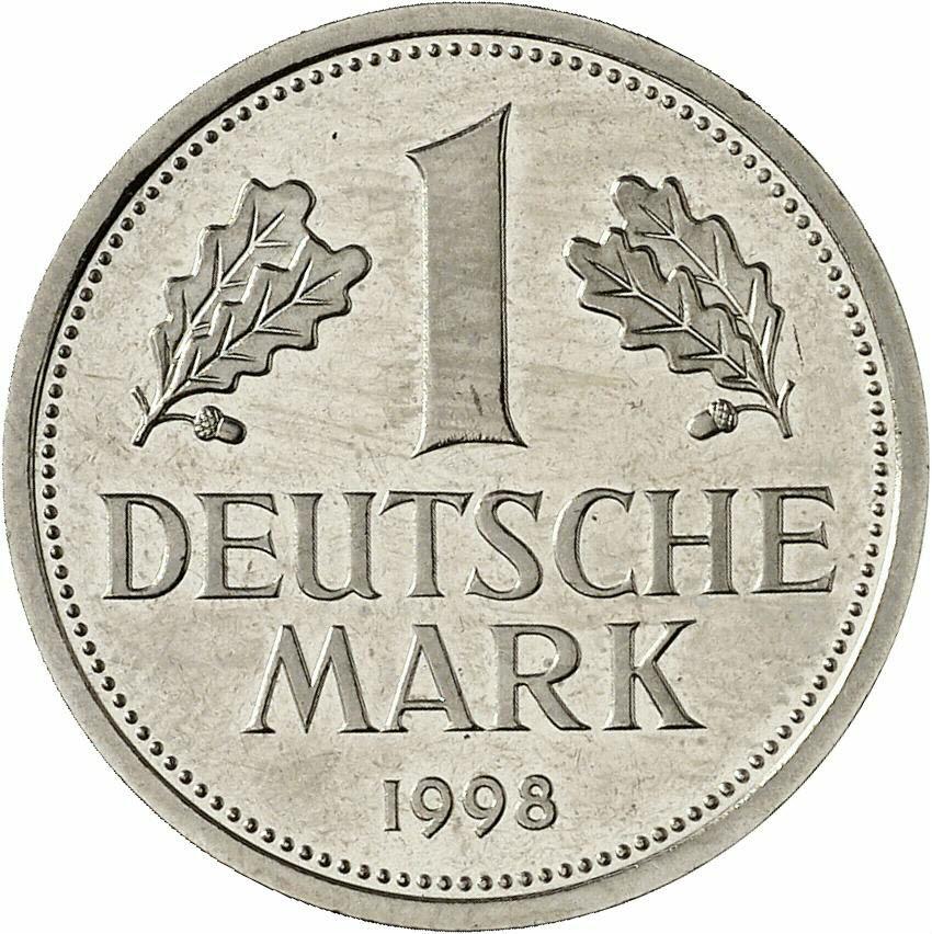 DE 1 Deutsche Mark 1998 D