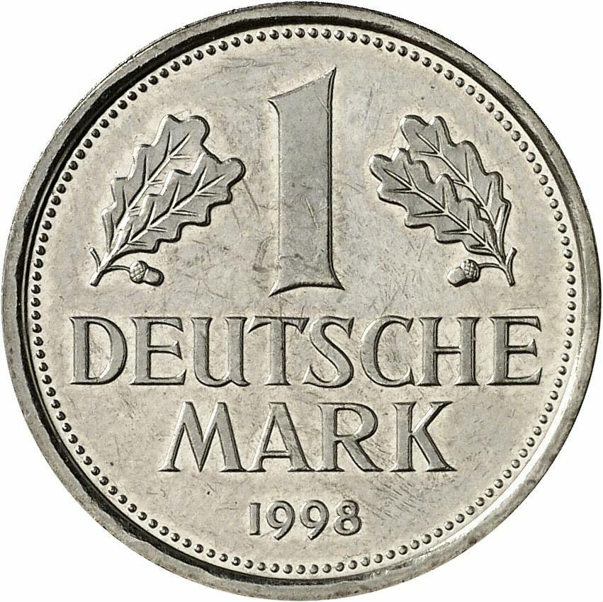 DE 1 Deutsche Mark 1998 F