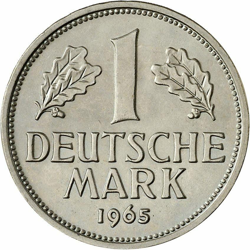 DE 1 Deutsche Mark 1965 D