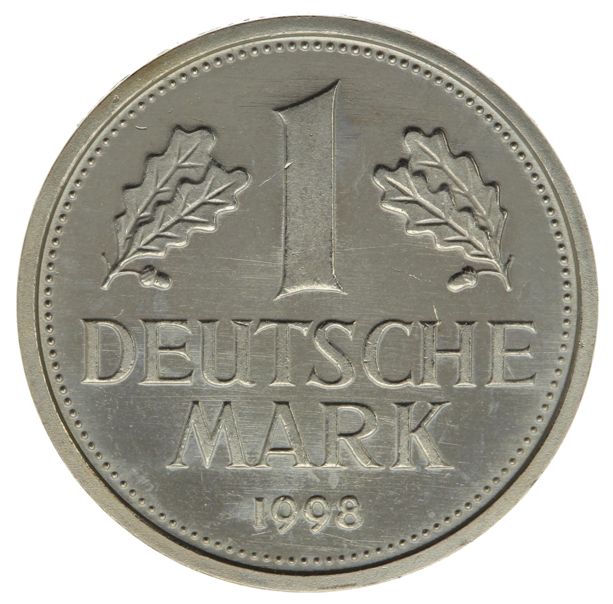 DE 1 Deutsche Mark 1998 G