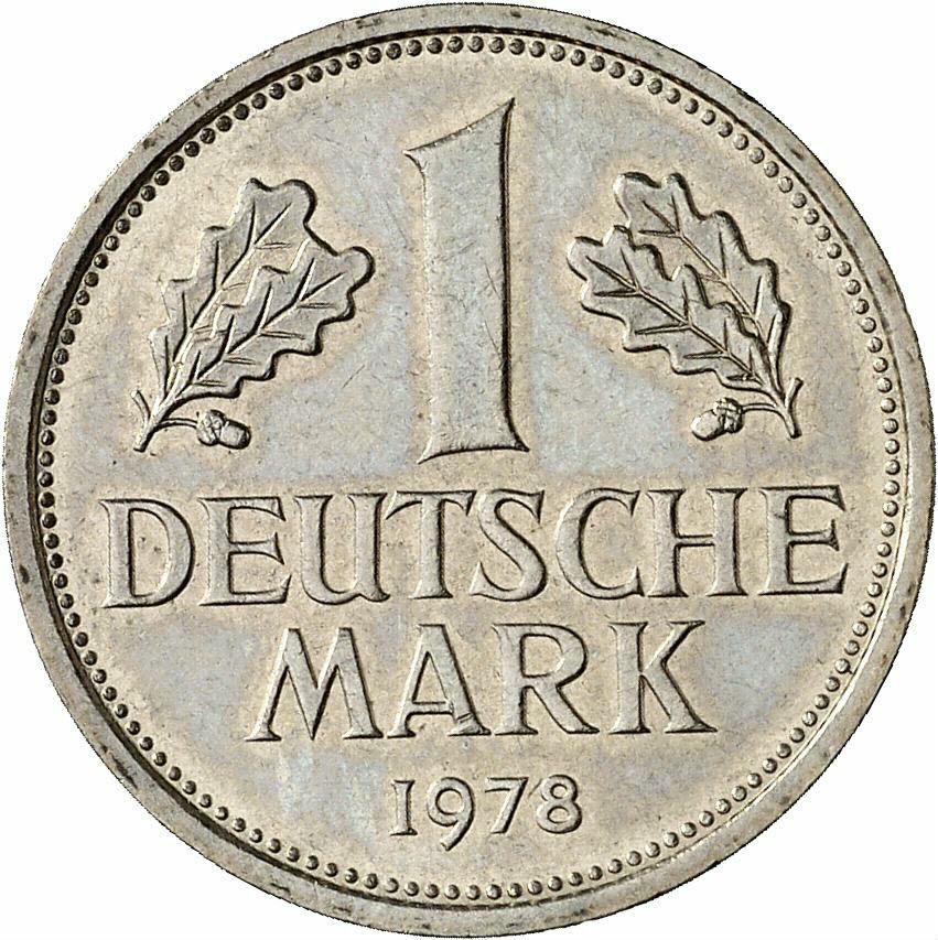 DE 1 Deutsche Mark 1978 D