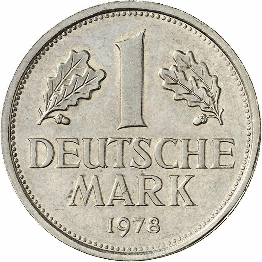 DE 1 Deutsche Mark 1978 G