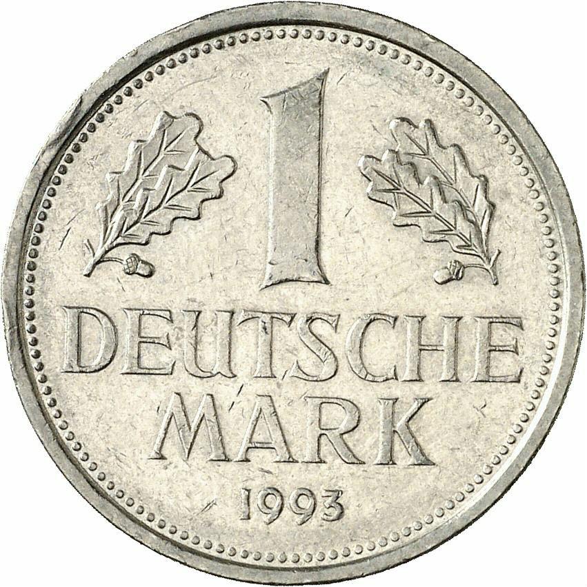 DE 1 Deutsche Mark 1993 D