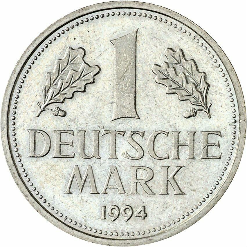 DE 1 Deutsche Mark 1994 A