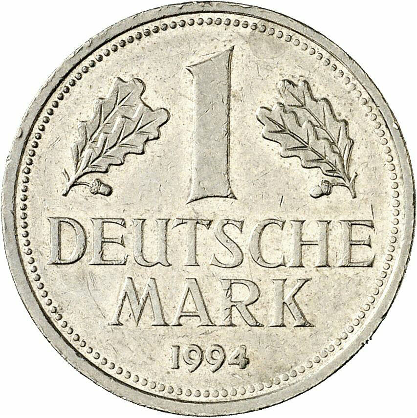 DE 1 Deutsche Mark 1994 D