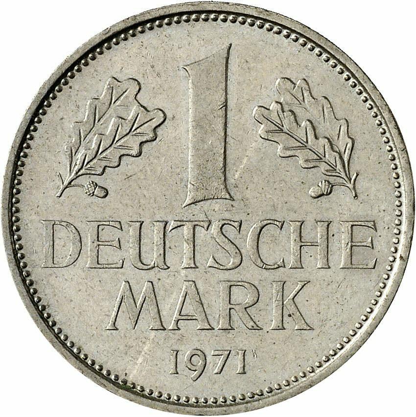 DE 1 Deutsche Mark 1971 G