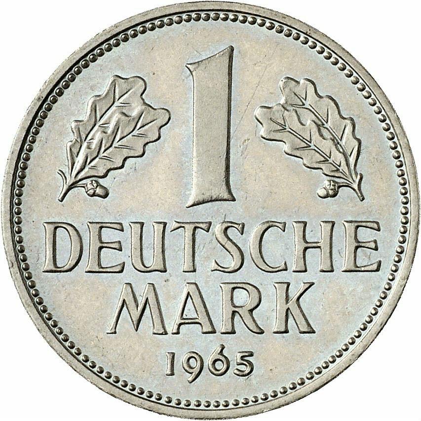 DE 1 Deutsche Mark 1965 G