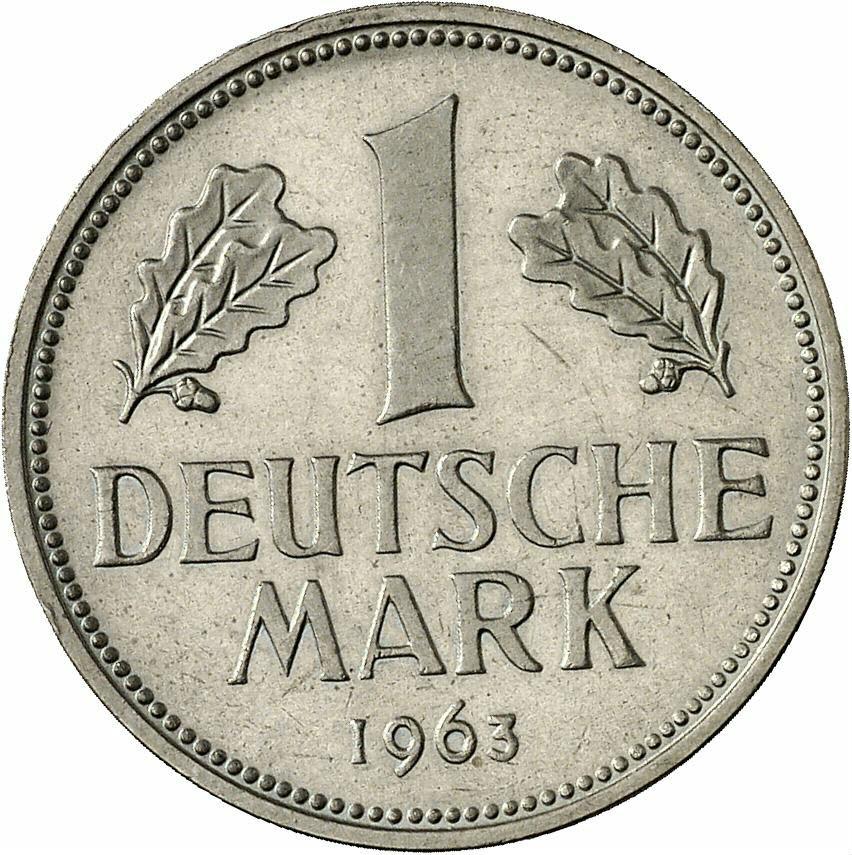 DE 1 Deutsche Mark 1963 J
