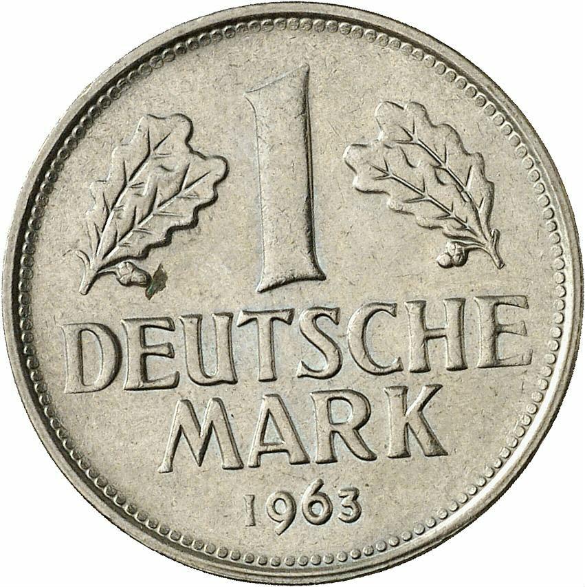 DE 1 Deutsche Mark 1963 G