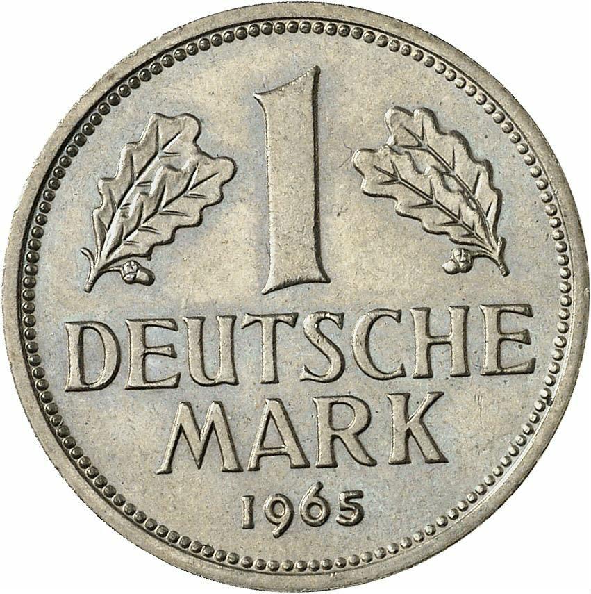 DE 1 Deutsche Mark 1965 J