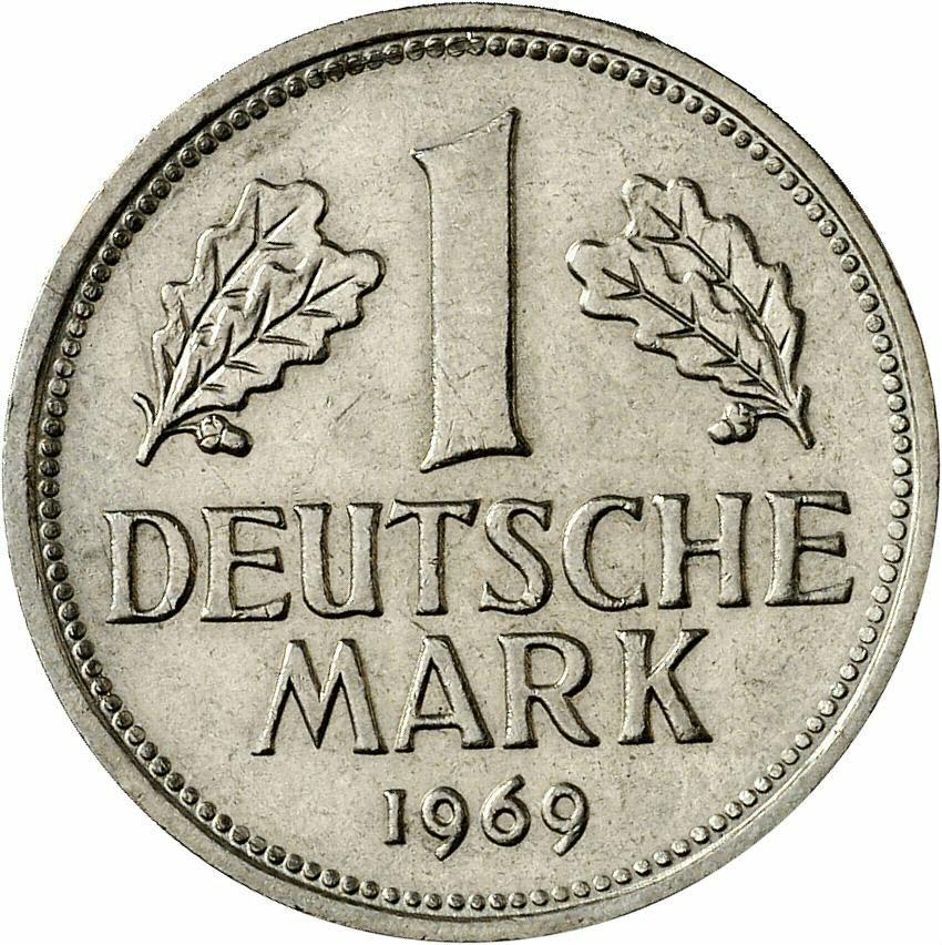 DE 1 Deutsche Mark 1969 D