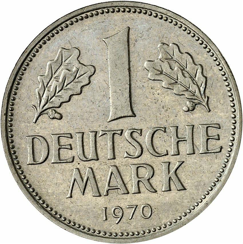 DE 1 Deutsche Mark 1970 G