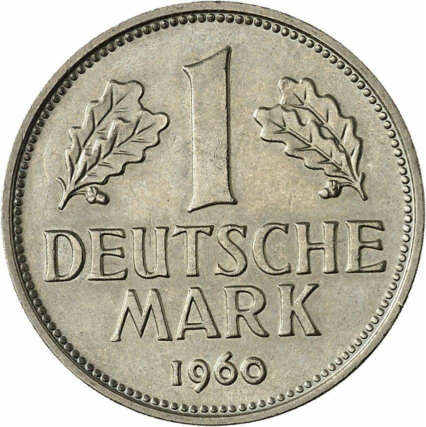 DE 1 Deutsche Mark 1960 G