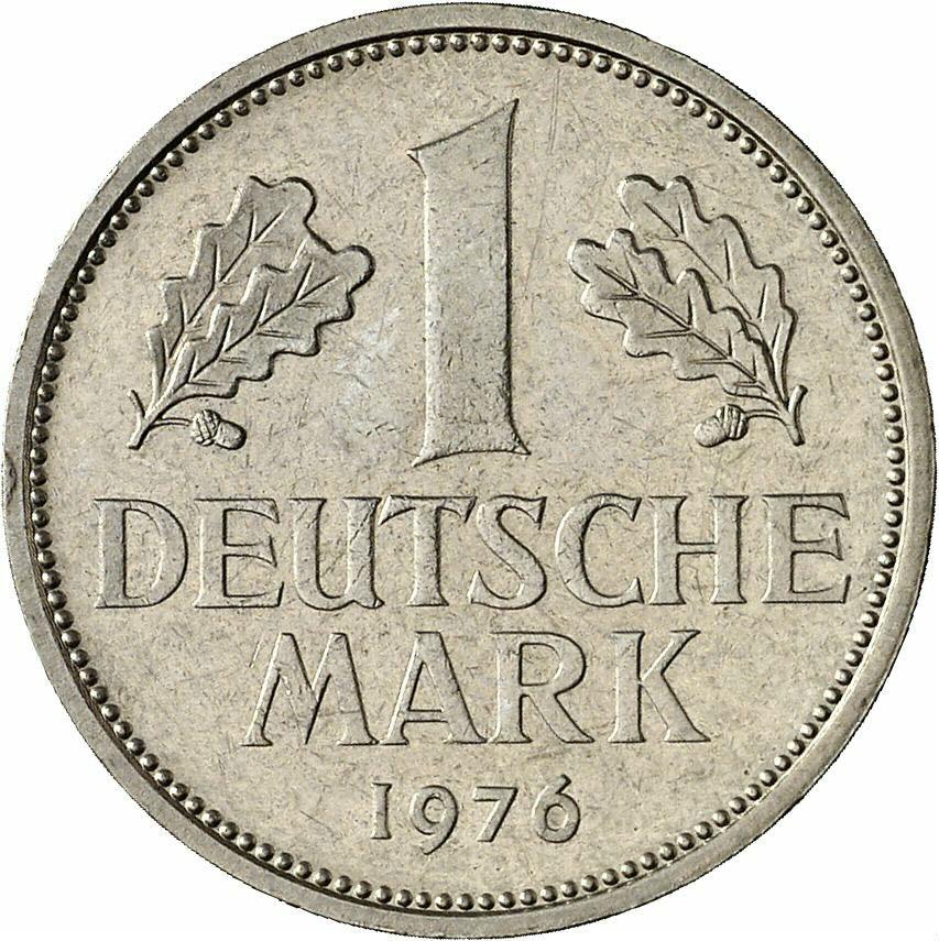 DE 1 Deutsche Mark 1976 G