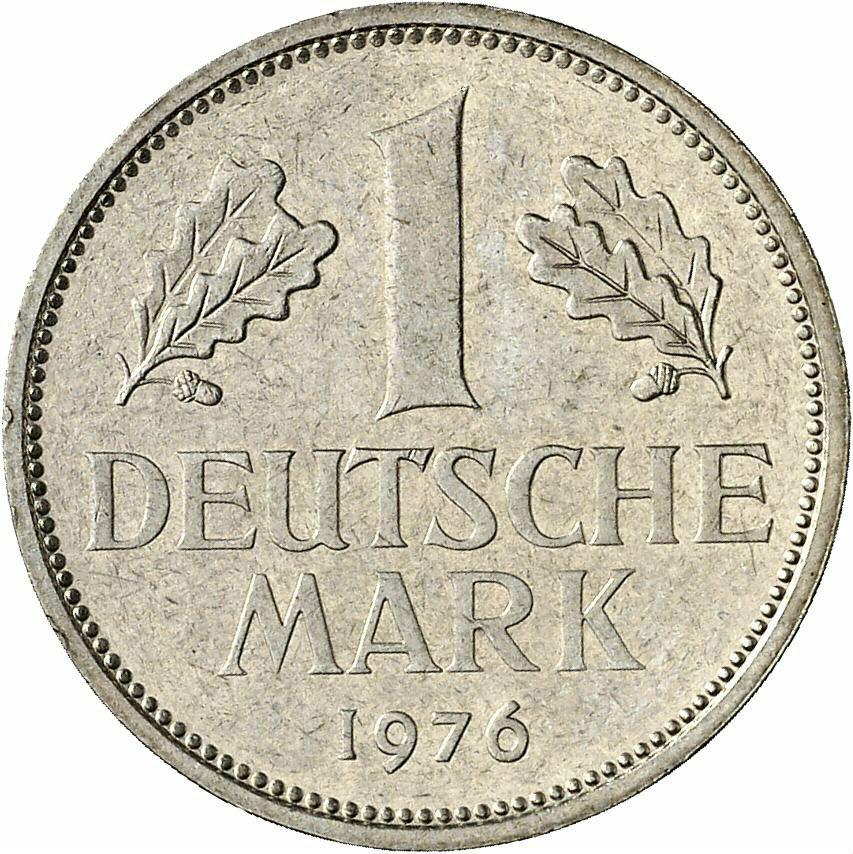 DE 1 Deutsche Mark 1976 J