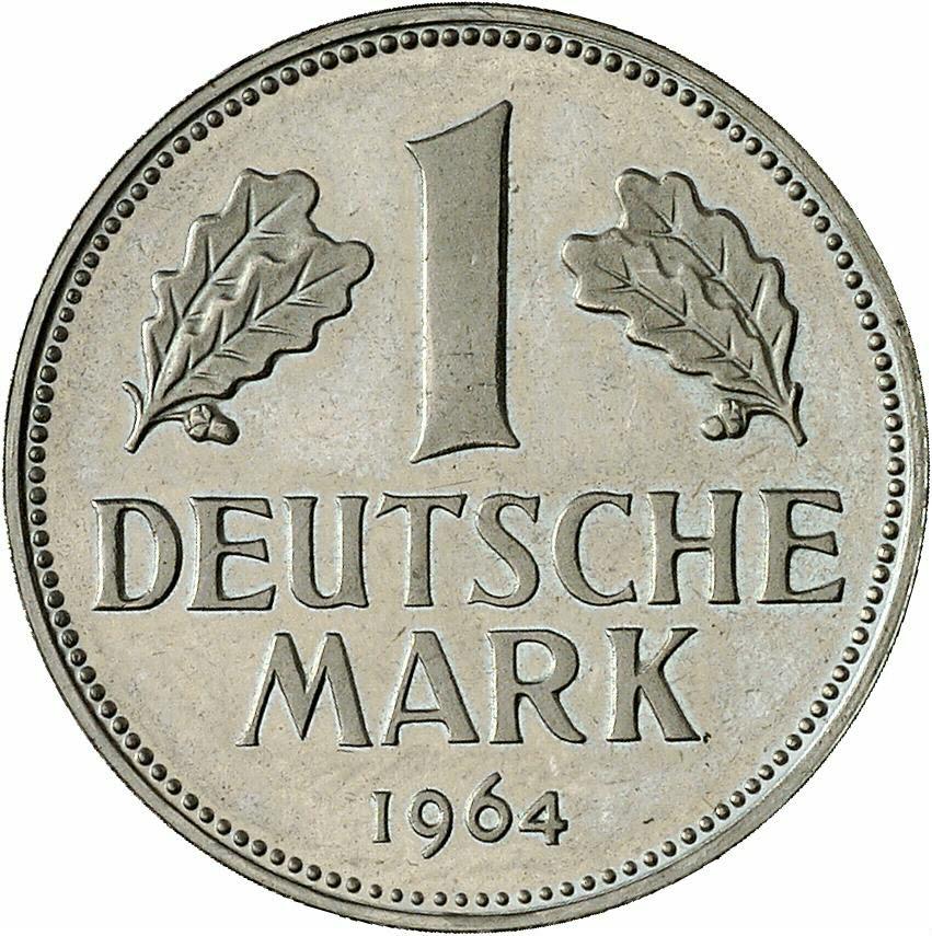 DE 1 Deutsche Mark 1964 G