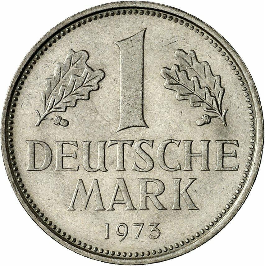 DE 1 Deutsche Mark 1973 F
