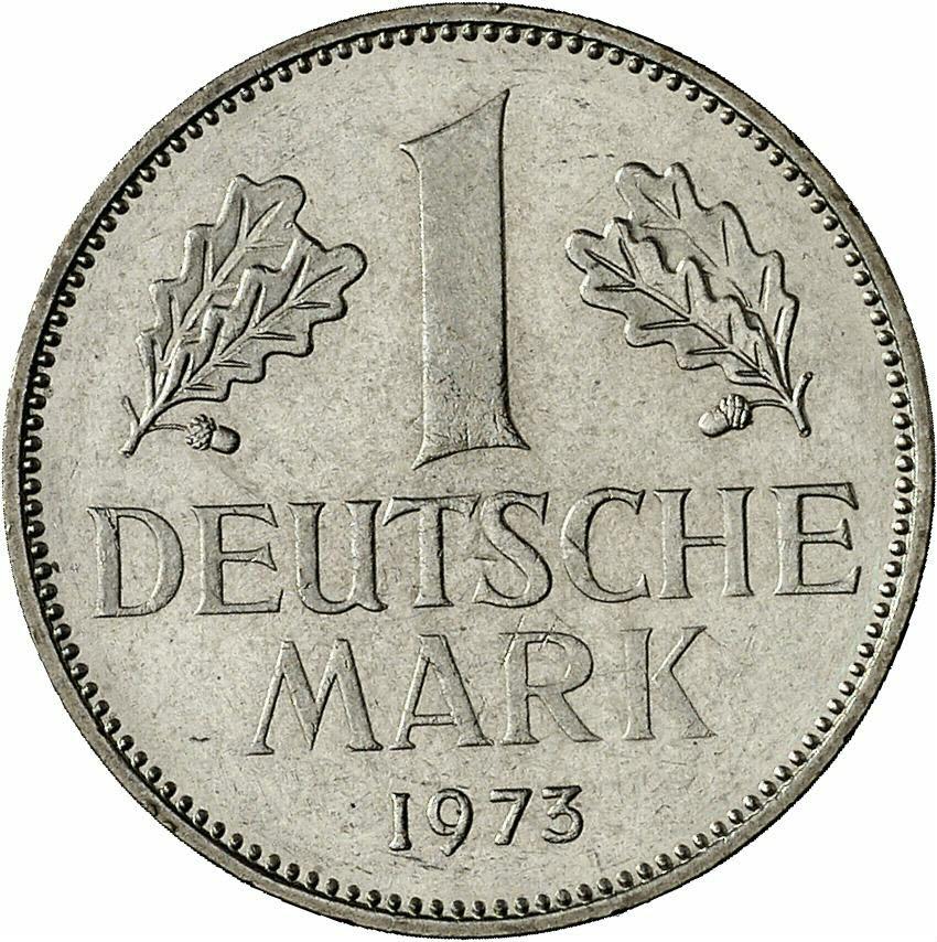DE 1 Deutsche Mark 1973 J