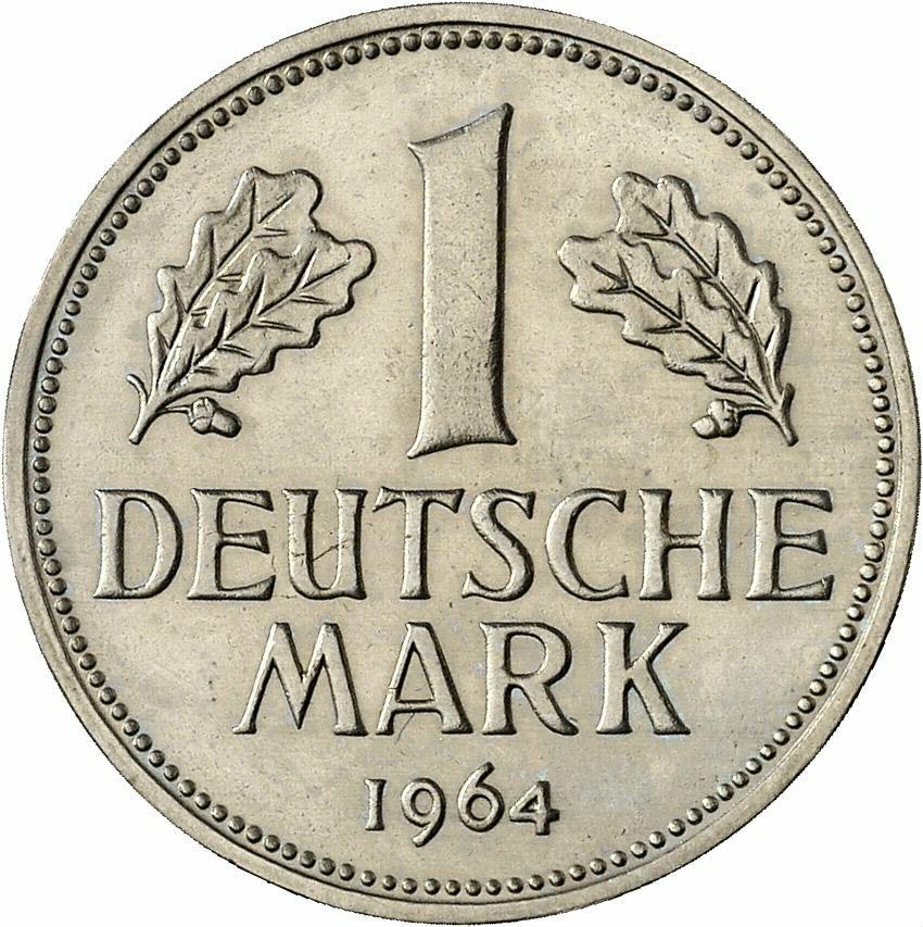 DE 1 Deutsche Mark 1964 D