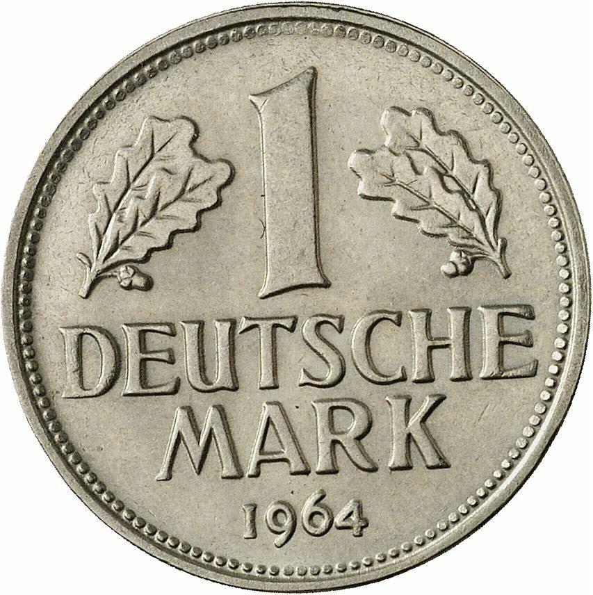 DE 1 Deutsche Mark 1964 F