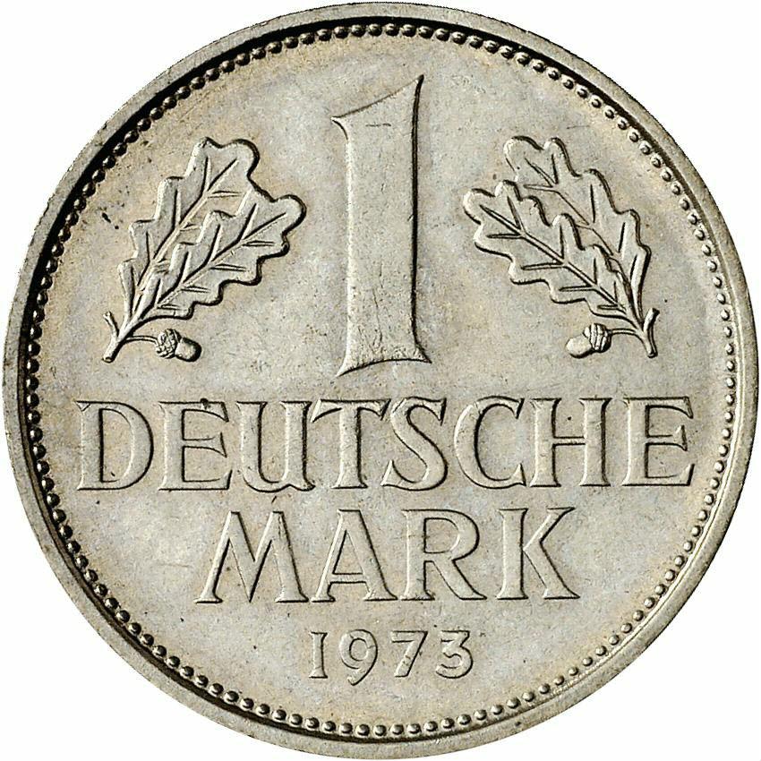 DE 1 Deutsche Mark 1973 D
