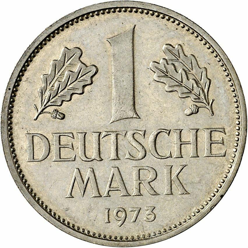 DE 1 Deutsche Mark 1973 G
