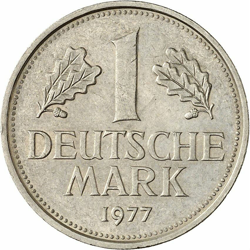 DE 1 Deutsche Mark 1977 G