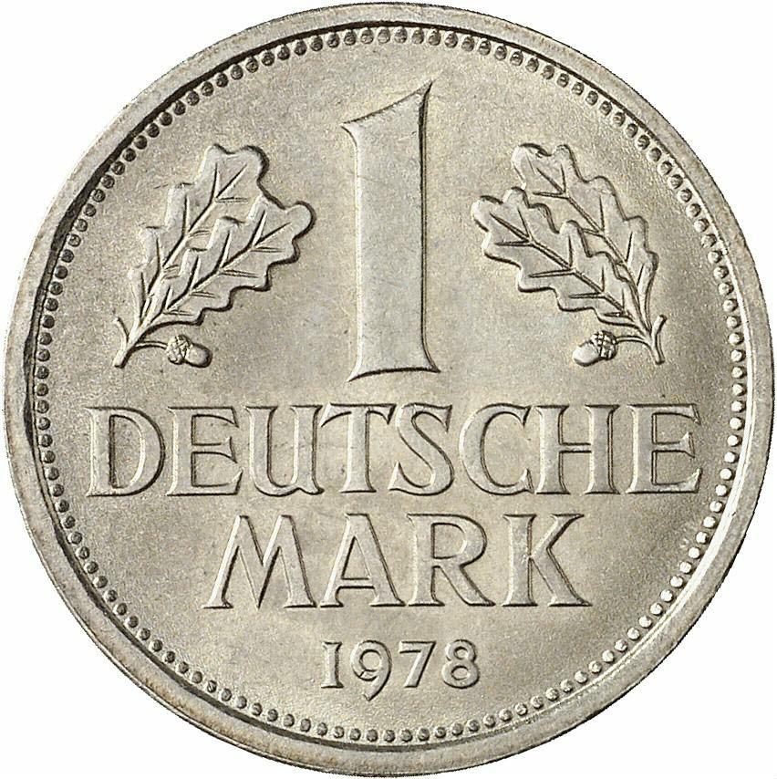 DE 1 Deutsche Mark 1978 F