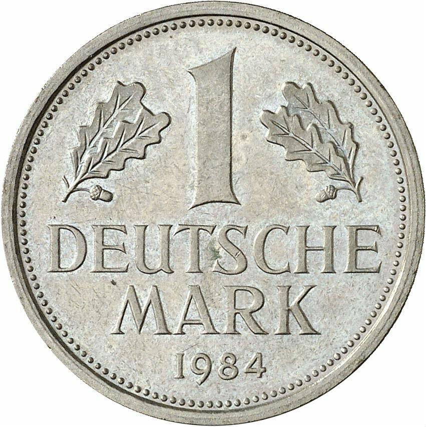 DE 1 Deutsche Mark 1984 D
