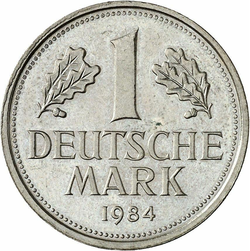 DE 1 Deutsche Mark 1984 F