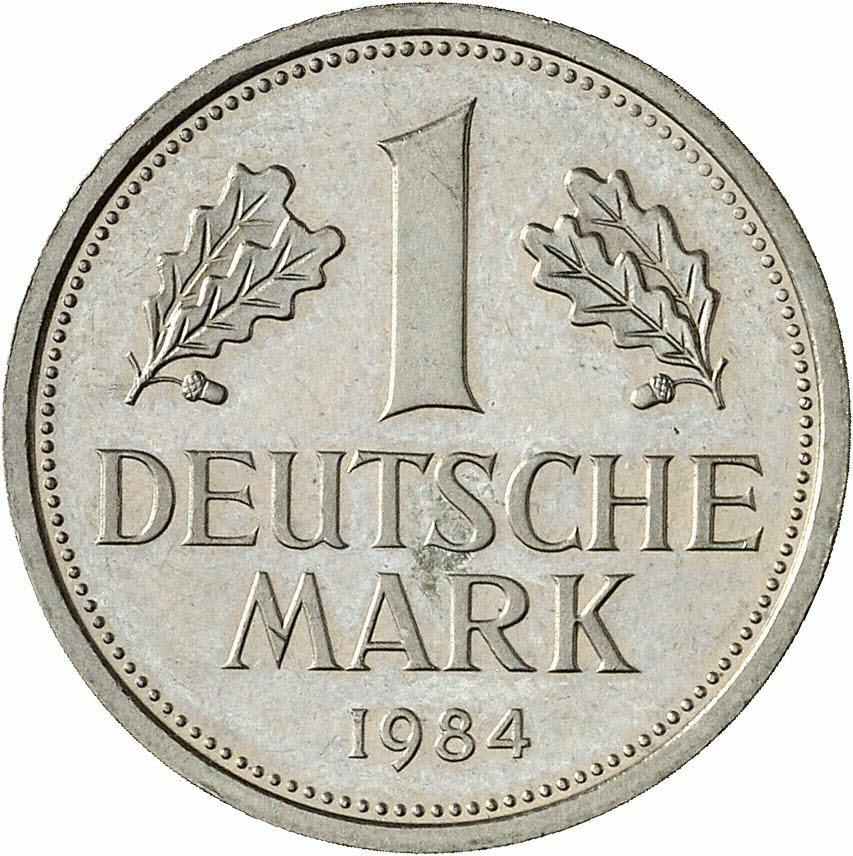 DE 1 Deutsche Mark 1984 G