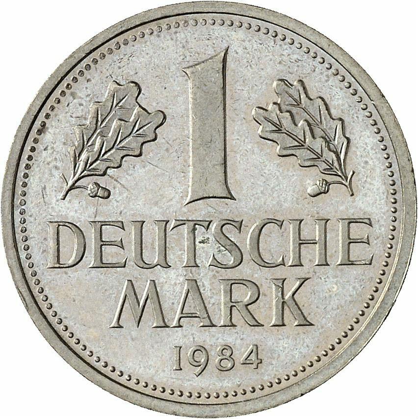 DE 1 Deutsche Mark 1984 J