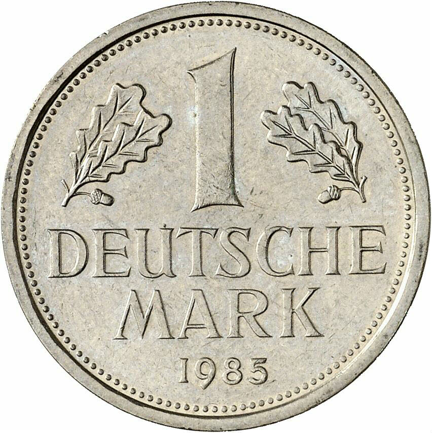 DE 1 Deutsche Mark 1985 D