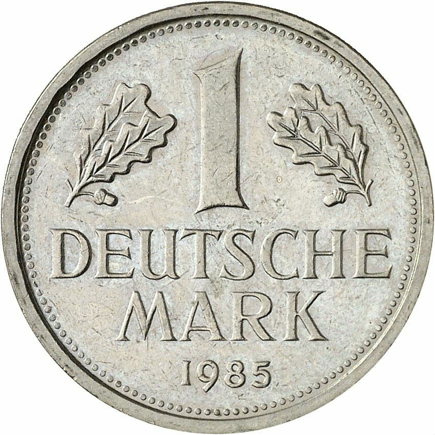 DE 1 Deutsche Mark 1985 F